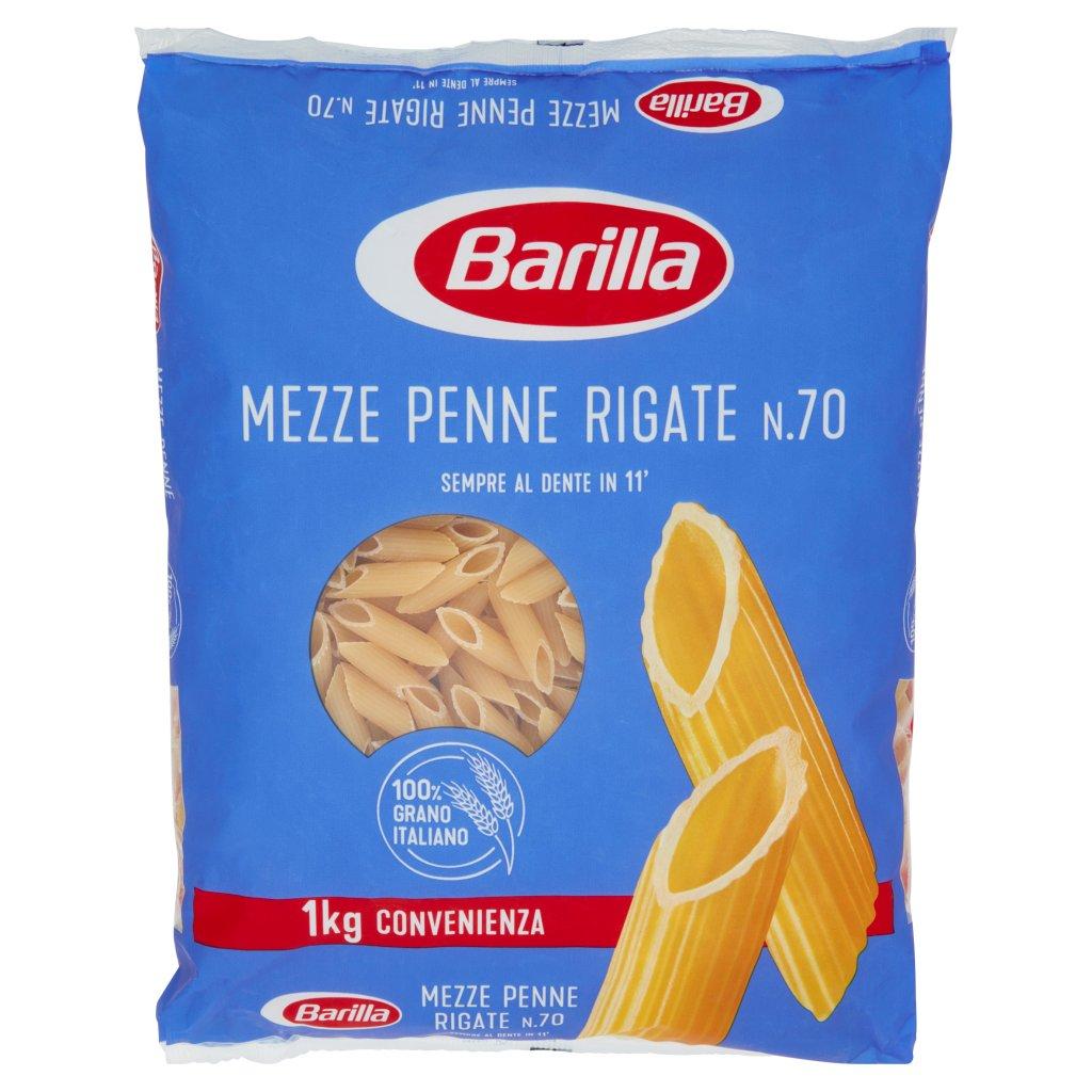 Barilla Mezze Penne Rigate N.70 1kg