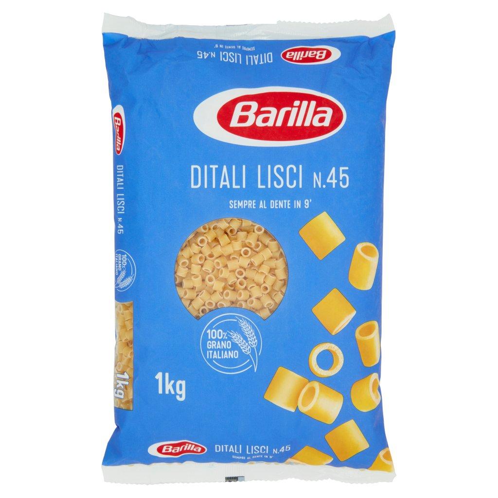 Barilla Ditali Lisci N.45 1kg