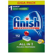 Finish Powerball all in 1 Limone 112 Pz