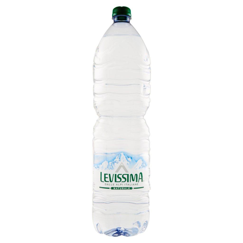 Levissima , Acqua Minerale Naturale Oligominerale 1,5l Confezione 1.5 L 1