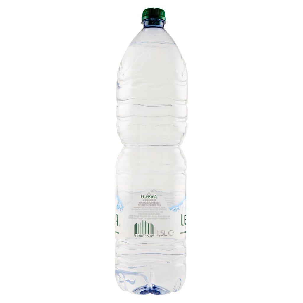 Levissima , Acqua Minerale Naturale Oligominerale 1,5l Confezione 1.5 L 3