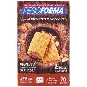 Pesoforma Gusto Cioccolato e Nocciola 16 x 33 g