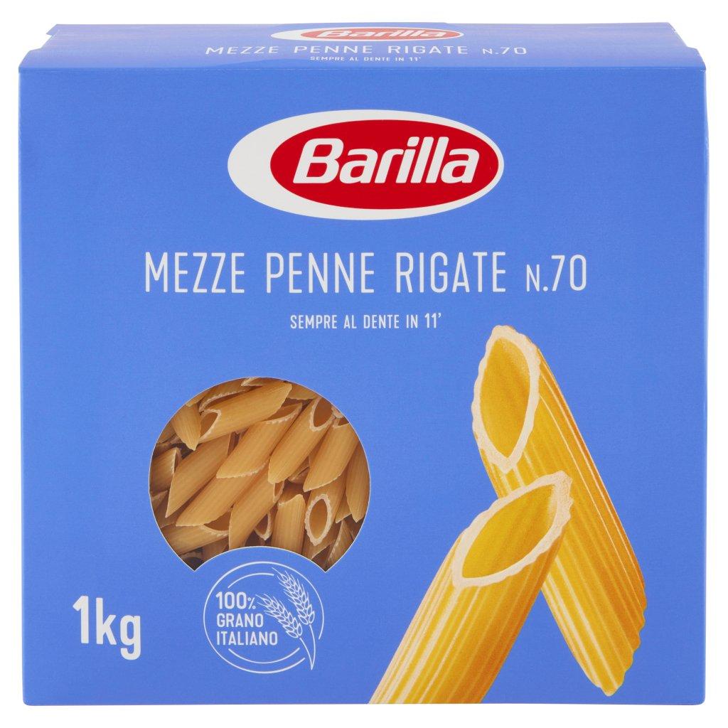 Barilla Mezze Penne Rigate N°70 1kg