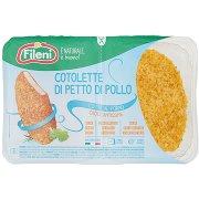Fileni Cotolette di Petto di Pollo 0,440 Kg