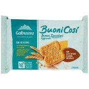 Galbusera Buonicosì senza Zuccheri Aggiunti con Latte Intero e Fibra Integrale 6 x 50 g
