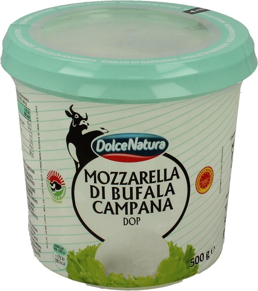 Mozzarella Bufala Campana Dop Dolce Natura 500 g