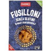 Farmo Fusilloni senza Glutine di Mais e Riso Integrale