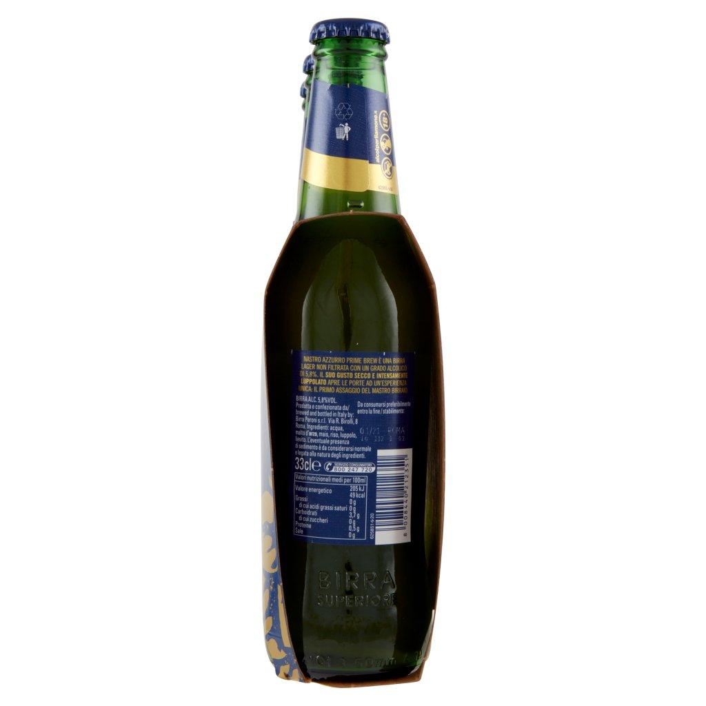 Nastro Azzurro Prime Brew Non Filtrata