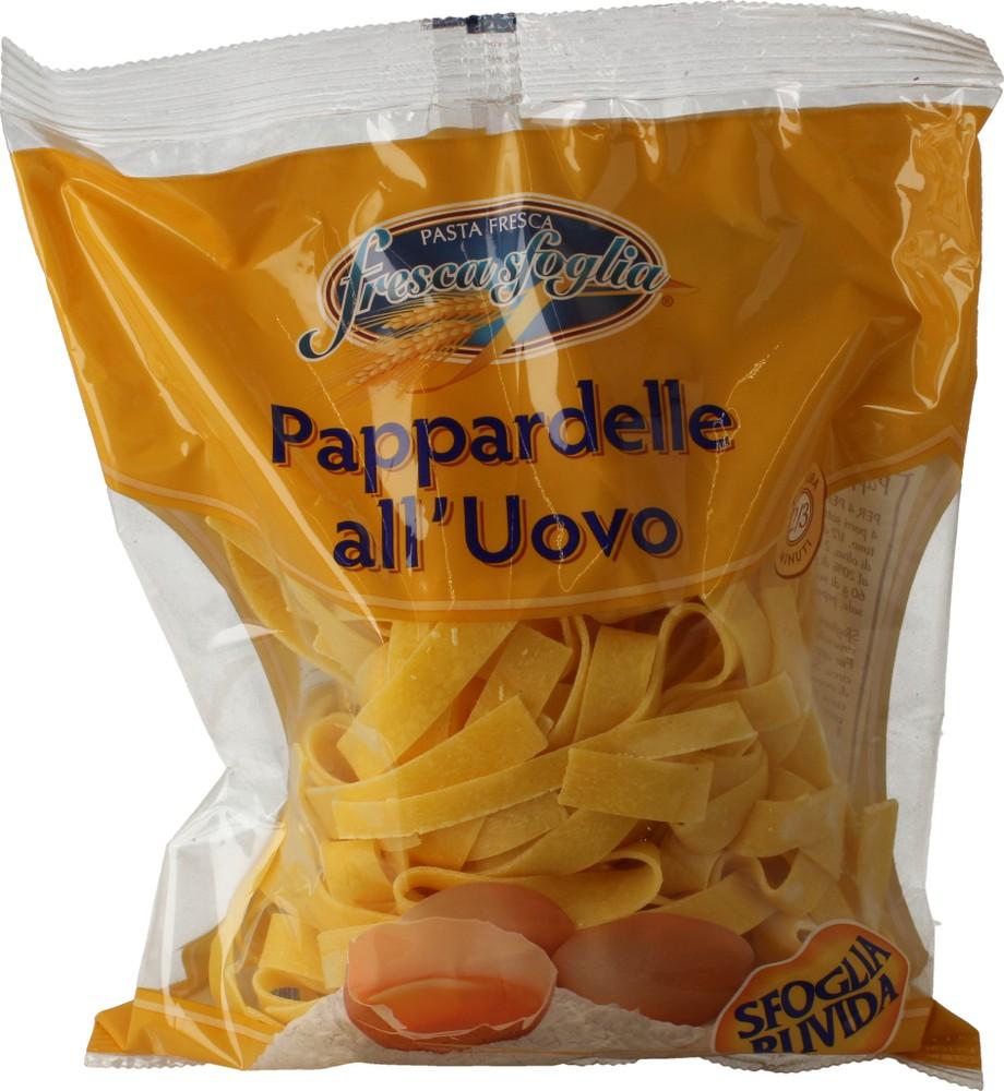 Pasta Fr Uovo Pappardelle Fresca Sfoglia 500 g
