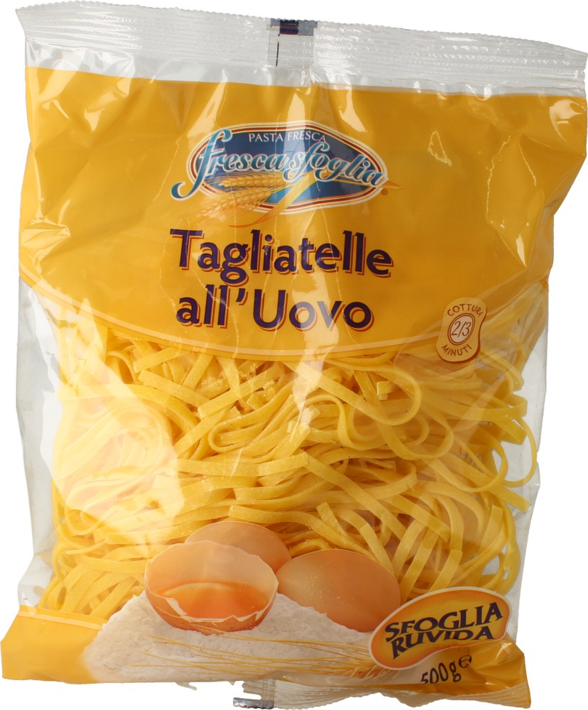 Pasta Fr Uovo Tagliatelle Fresca Sfoglia 500 g