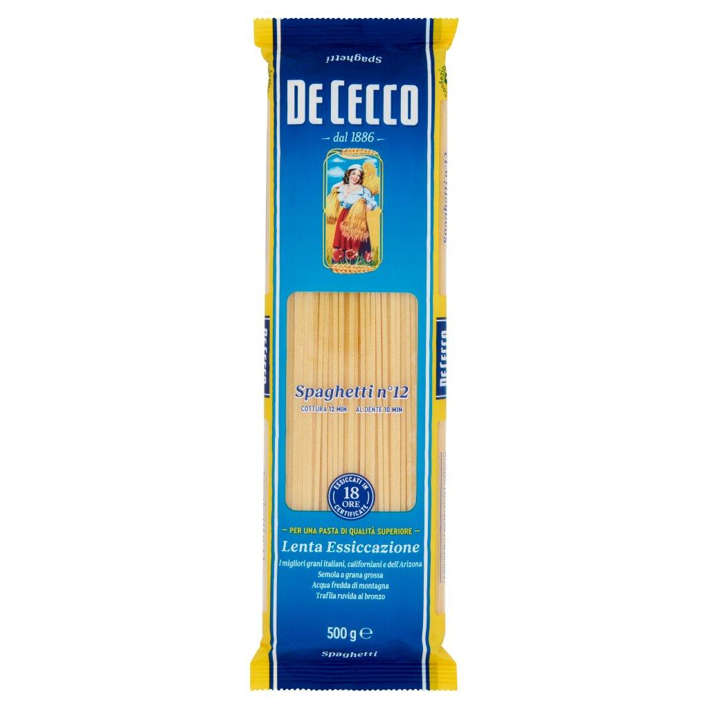 De Cecco Spaghetti N° 12