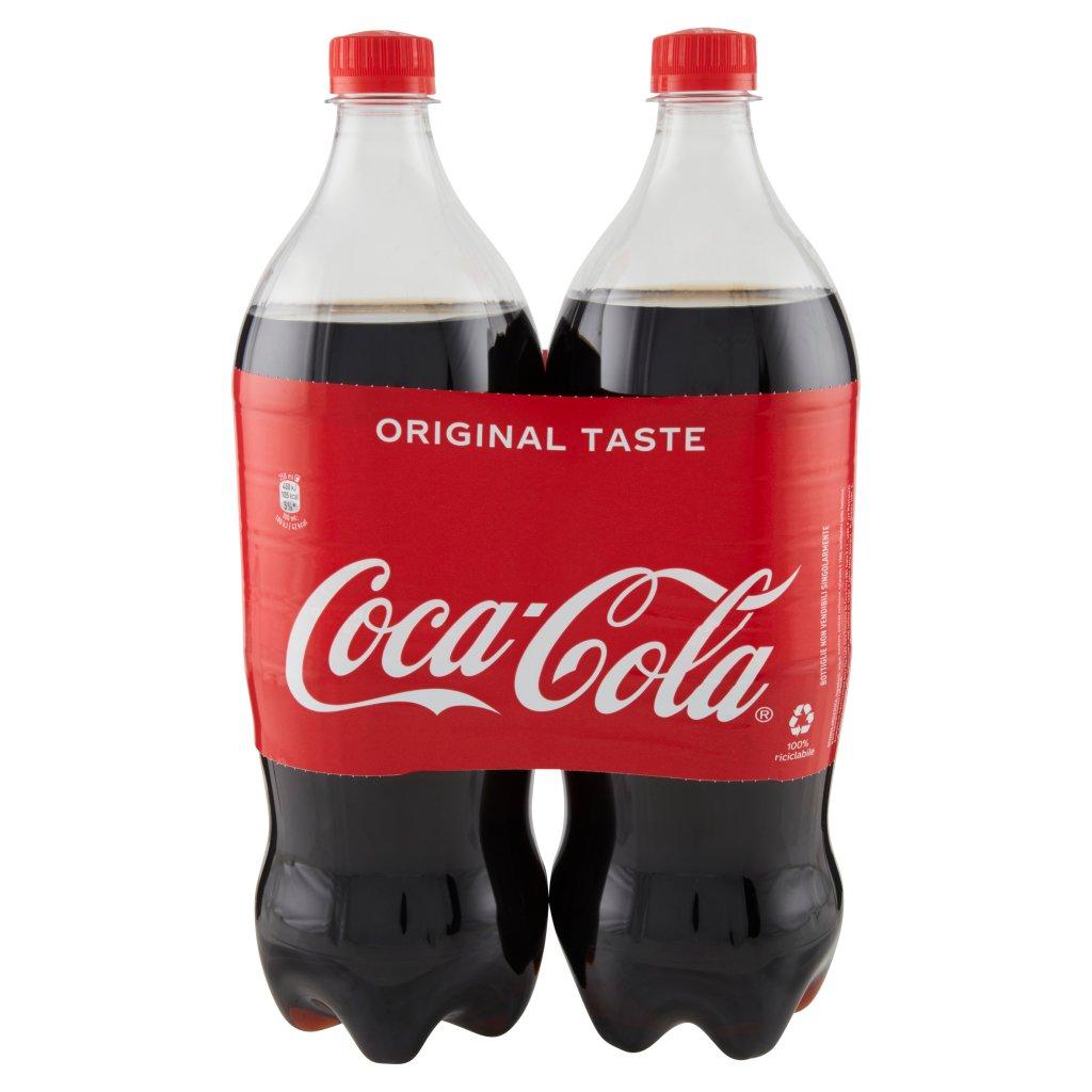 Coca Cola Taste 1,35l x 2 (Pet) Imballaggio 2 Bottiglie Da 1,35 L