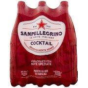 Sanpellegrino Bibite Gassate, Cocktail, 1,25l x 6
