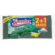 Spontex Spugna Abrasiva Universale Salvaunghie X2+1