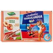 Valfrutta I Triangolini Pesca Italiana Succo e Polpa 8 x 100 Ml