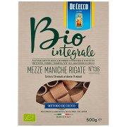 De Cecco Bio Integrale Mezze Maniche Rigate N°136