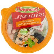 Dimmidisì ... al Piatto Unico Insalatona Pollo, Olive e Crostini