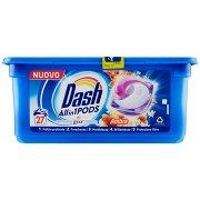 Dash Pods Allin1 Detersivo Lavatrice in Capsule Ambra 27 Lavaggi