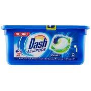 Dash Pods Allin1 Detersivo Lavatrice in Capsule Classico 27 Lavaggi