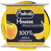 Melinda Mousse 100% Mela e Banana 2 x 100 g