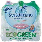 San Benedetto Ecogreen 1l Easy Naturale - Fonte del Pollino F6