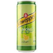 Schweppes Limone 0,33 l Lattina Sleek