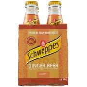 Schweppes Ginger Beer 0,18 l Ow  x 4