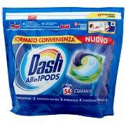 Dash Pods Allin1 Detersivo Lavatrice in Capsule Classico 54 Lavaggi