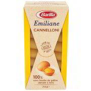 Emiliane Barilla Cannelloni G.250 Barilla Uovo