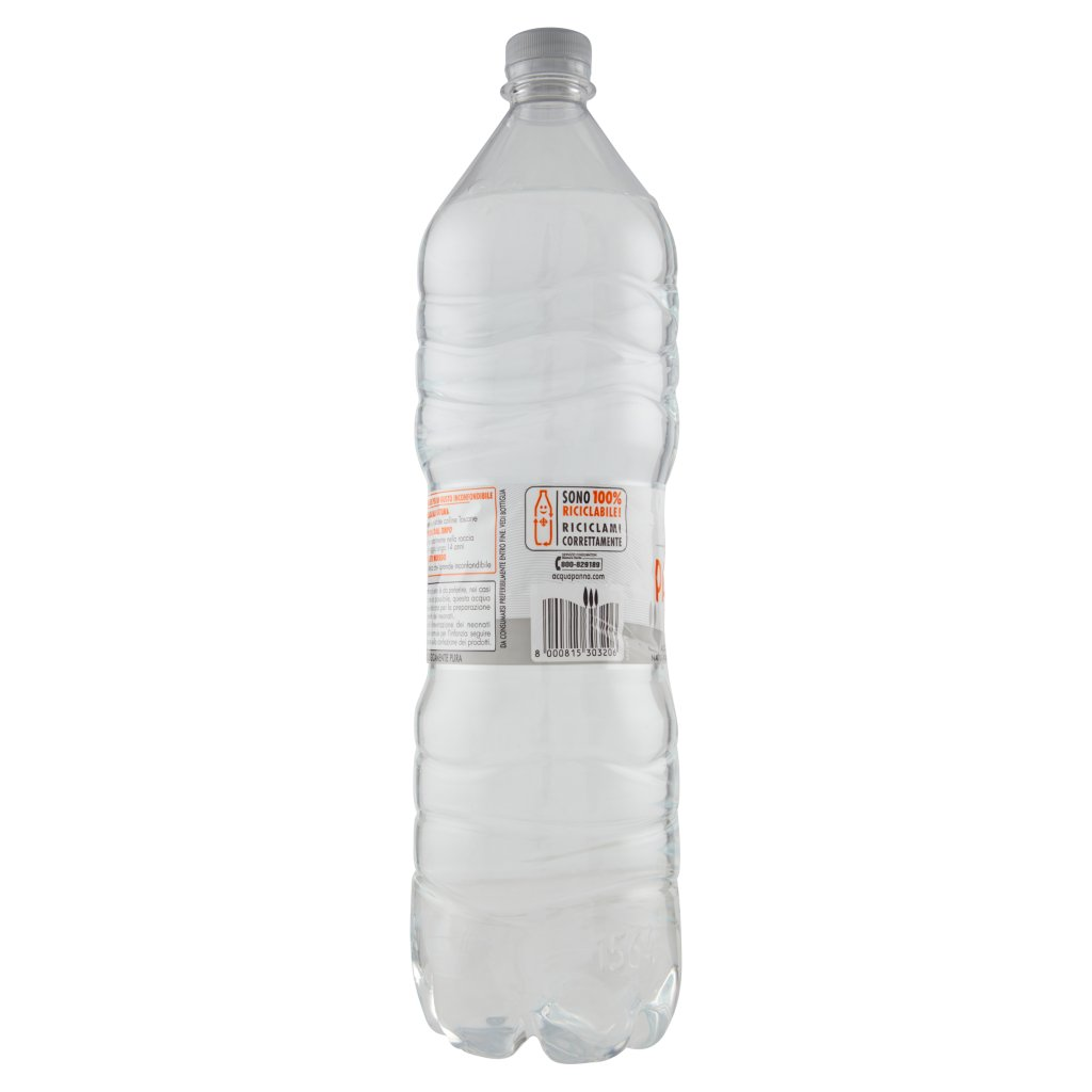 Acqua Panna , Acqua Minerale Oligominerale Naturale, 1,5 l Bottiglia 1.5L 3