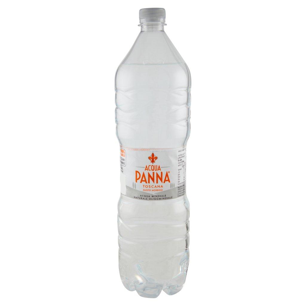 Acqua Panna , Acqua Minerale Oligominerale Naturale, 1,5 l Bottiglia 1.5L