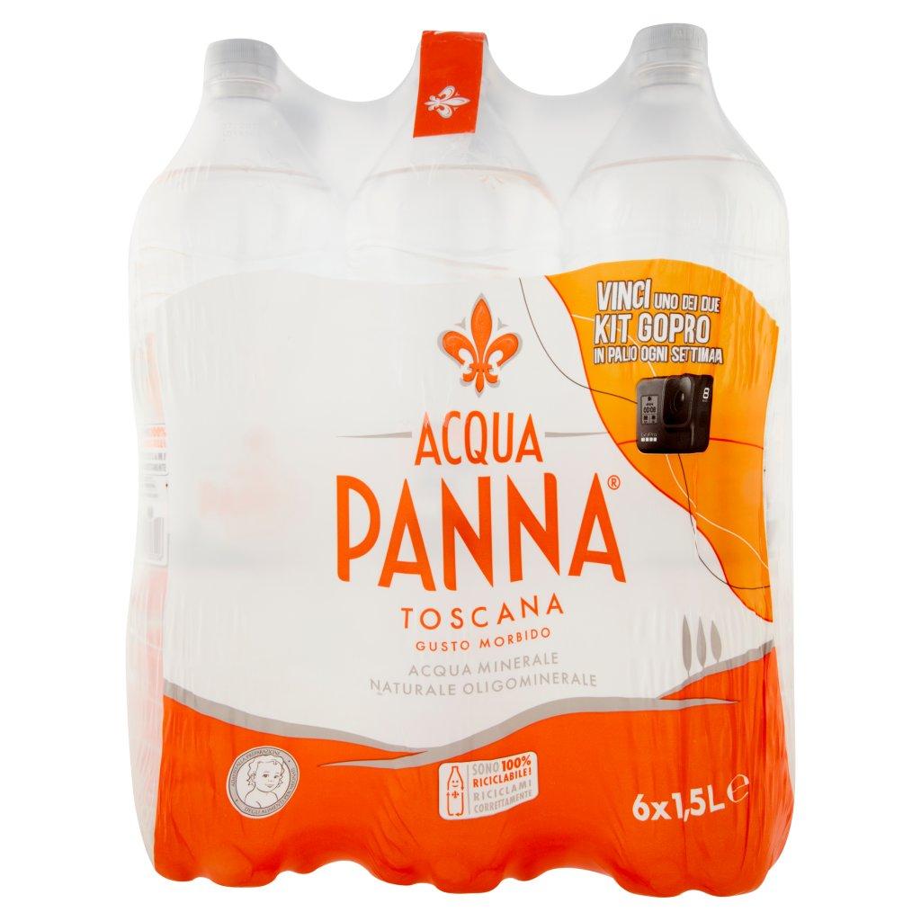 Acqua Panna Acqua Minerale Oligominerale Naturale Confezione 6X1,5L 1