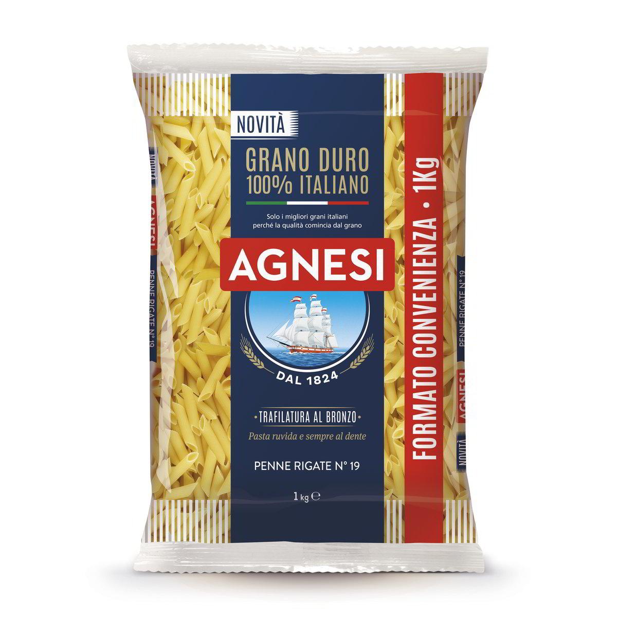 Agnesi Penne Rigate 100% Italia
