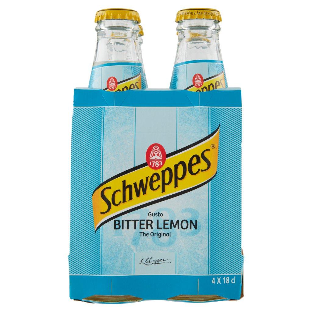 Schweppes Bitter Lemon 0,18 l Ow  x 4