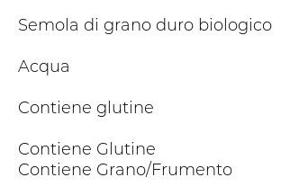 Alce Nero Spaghettoni Varietà di Grano Cappelli
