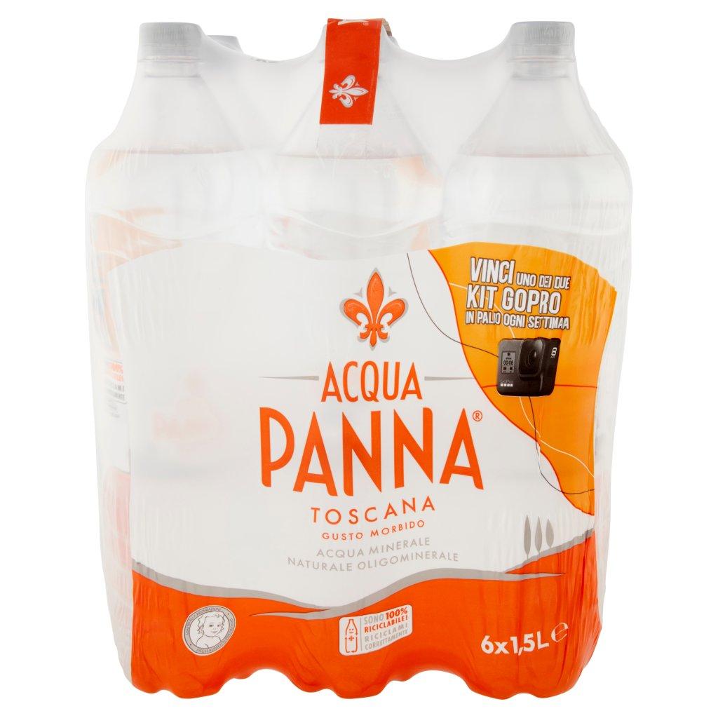 Acqua Panna Acqua Minerale Oligominerale Naturale Confezione 6X1,5L