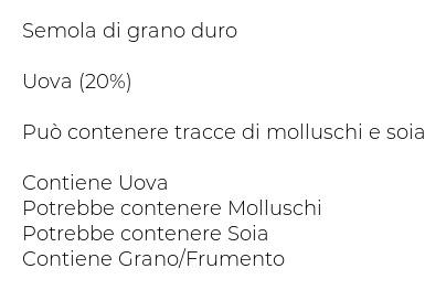 Papi Pasta all'Uovo Quadrettini