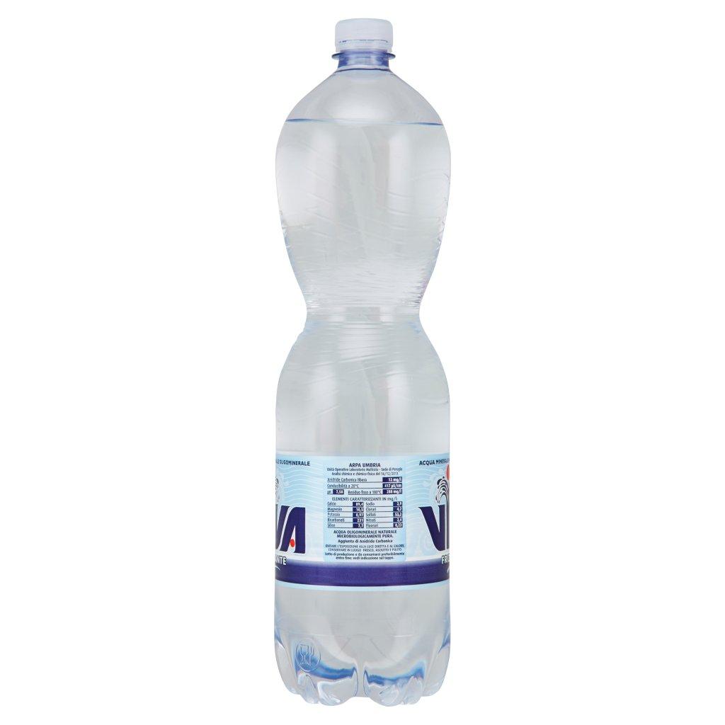 Viva Acqua Minerale Naturale Oligominerale Frizzante 1,5 l
