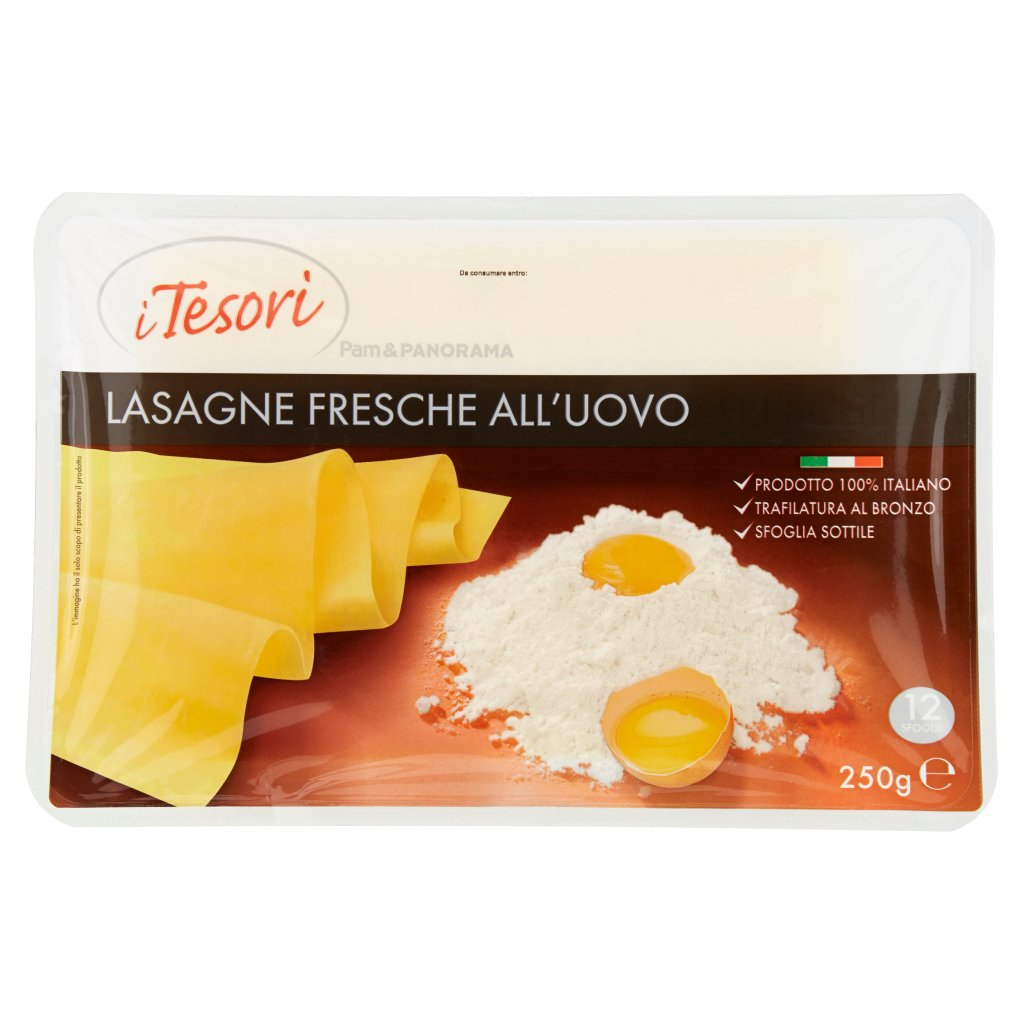 I Tesori Lasagne Fresche all'Uovo