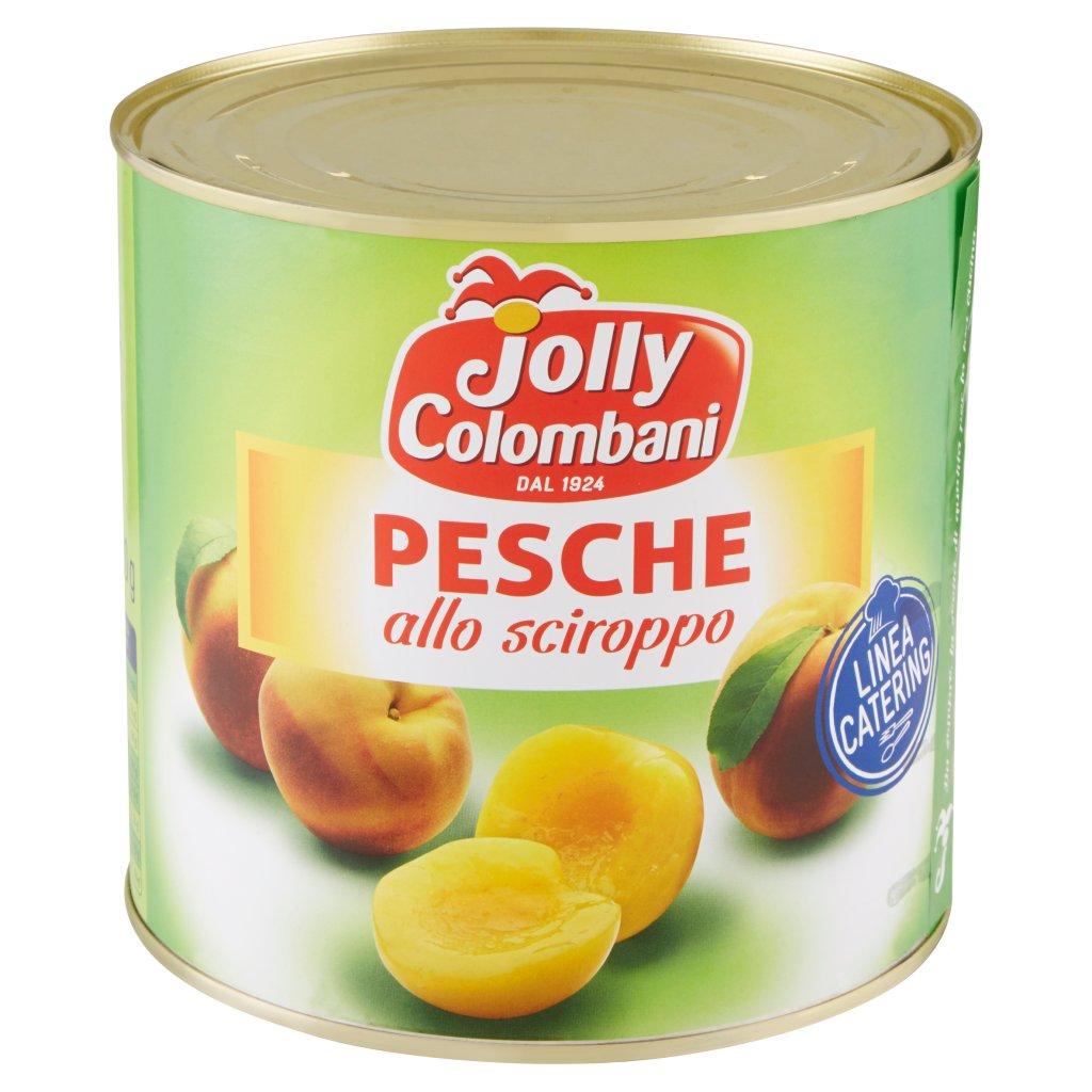 Jolly Colombani Linea Catering Pesche allo Sciroppo Confezione 2650 G