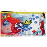 Super5 Rotomop Compact Kit Secchio + Mop Compatto