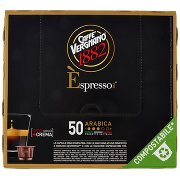 Caffè Vergnano 1882 Èspresso1882 Arabica Capsule Compatibili Nespresso 50 x 5 g