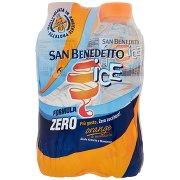 San Benedetto Ice Gusto Arancia e Mandarino 4 x 0,5 l