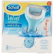 Scholl Velvet Smooth Wet & Dry Roll Ricaricabile per Pedicure