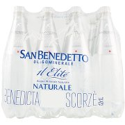 San Benedetto Acqua Minerale Benedicta Elite Naturale 12 x 1l