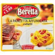 Fratelli Beretta La Pancetta Affumicata Cubetti 4 x 57,5 g