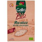 Gallo Bio Rustico Riso Ribe Semi Integrale