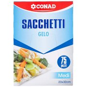 Conad Sacchetti Gelo Medi 23x32cm