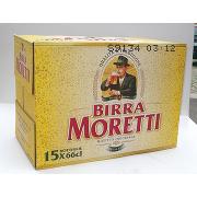 Birra Moretti 660 Ml 15 Pezzi