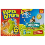 Pampers Sole e Luna Esapack Junior X96
